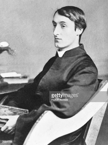 British Jesuit and poet Gerard Manley Hopkins