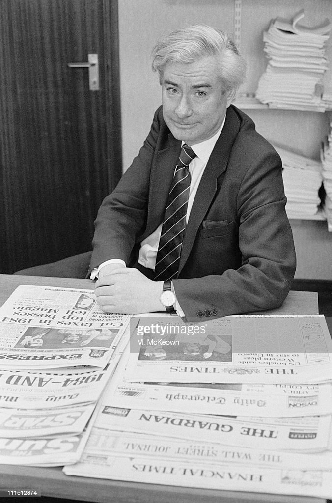 British journalist and broadcaster Alastair Burnet, 30th December 1983.
