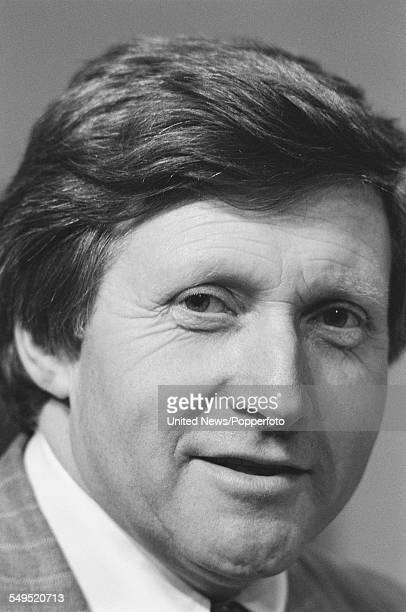 British journalist and broadcaster David Dimbleby a member of the BBC's general election team pictured at BBC Television Centre in London on 31st May...