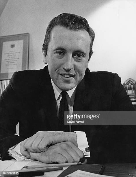British journalist and broadcaster David Frost 1968