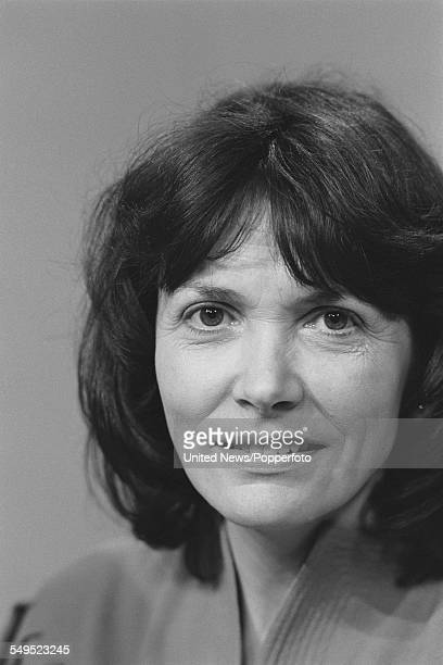 British journalist and broadcaster Joan Bakewell a member of the BBC's general election team pictured at BBC Television Centre in London on 31st May...