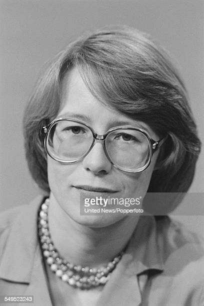 British journalist and broadcaster Linda Alexander a member of the BBC's general election team pictured at BBC Television Centre in London on 31st...