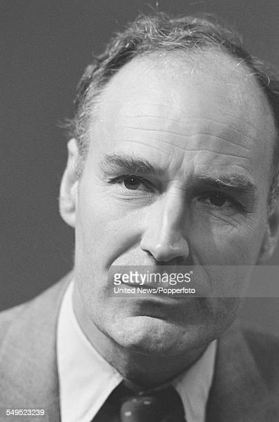 British journalist and broadcaster Peter Snow a member of the BBC's general election team pictured at BBC Television Centre in London on 31st May 1983