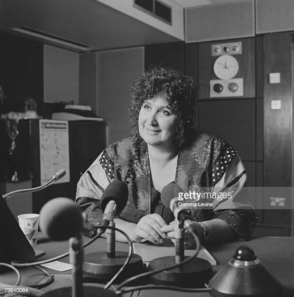 British journalist and radio broadcaster Jenni Murray circa 1994