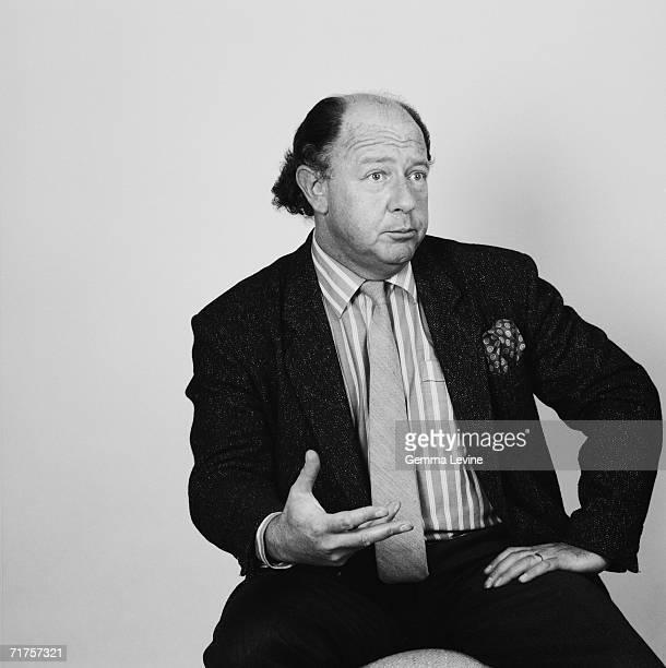 British journalist and satirist Alan Coren circa 1985