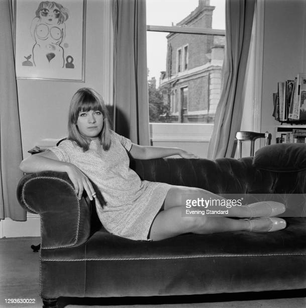 British journalist and writer Polly Toynbee, UK, 15th August 1966. She had recently been expelled from Rhodesia where she was working for Amnesty...