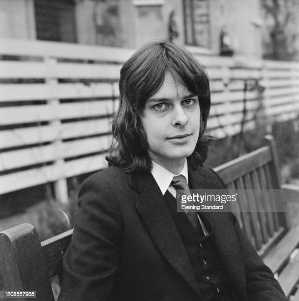 British journalist Andrew Cockburn of the Evening Standard newspaper posed on 26th April 1971