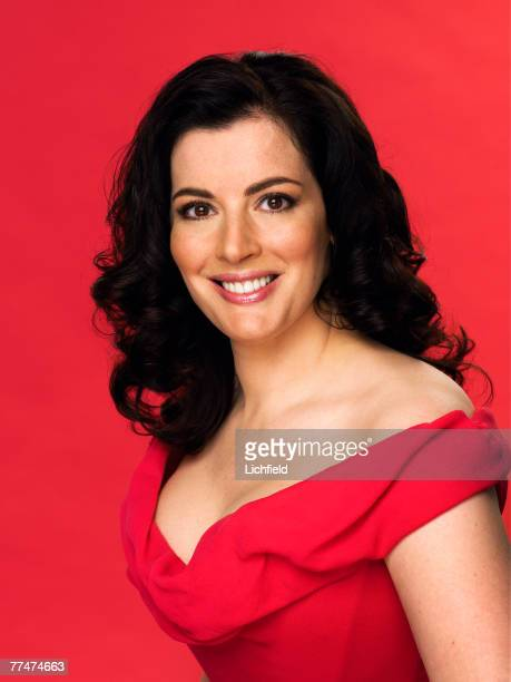 British journalist culinary writer and television presenter Nigella Lawson on 13th June 2005