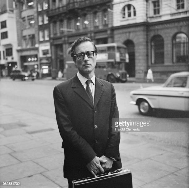 British journalist Harold Evans editor of The Sunday Times London UK 25th September 1968
