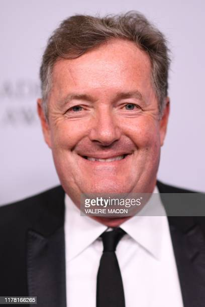 British journalist Piers Morgan arrives for the 2019 British Academy Britannia awards at the Beverly Hilton hotel in Beverly Hills on October 25,...