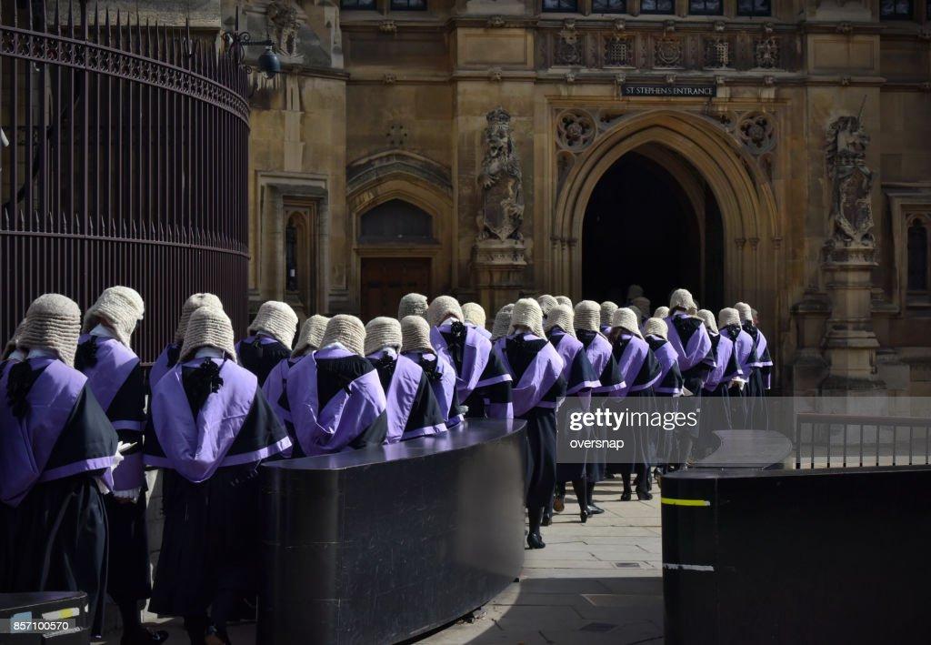 British Judges : Stock Photo