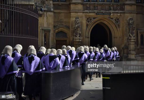 british judges - judge law stock pictures, royalty-free photos & images