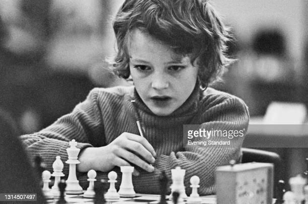 British junior chess player Julian Hodgson, later an International Grandmaster, UK, 9th January 1974.