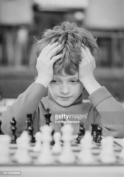 British junior chess player Julian Hodgson, later an International Grandmaster, UK, 11th May 1974.
