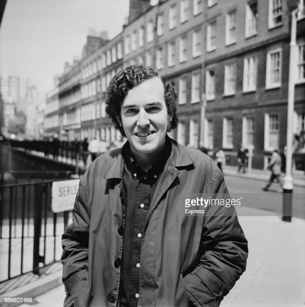 British labor party politician Peter Hain in London to start his trial for involvement in antiapartheid movement and for his campaign against...