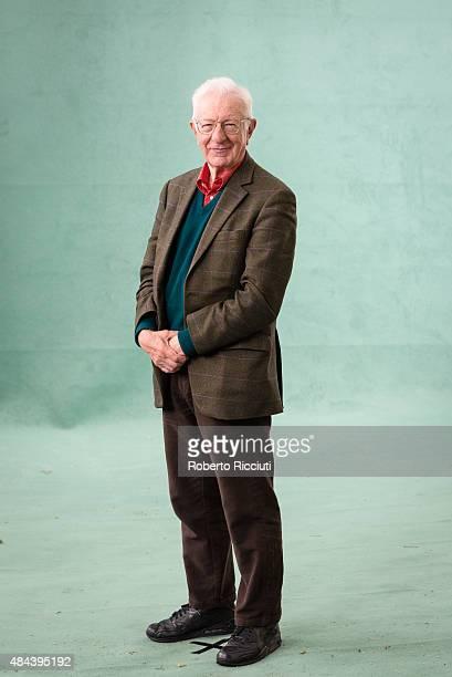 British labour economist Richard Layard attends a photocall at Edinburgh International Book Festival on August 18 2015 in Edinburgh Scotland