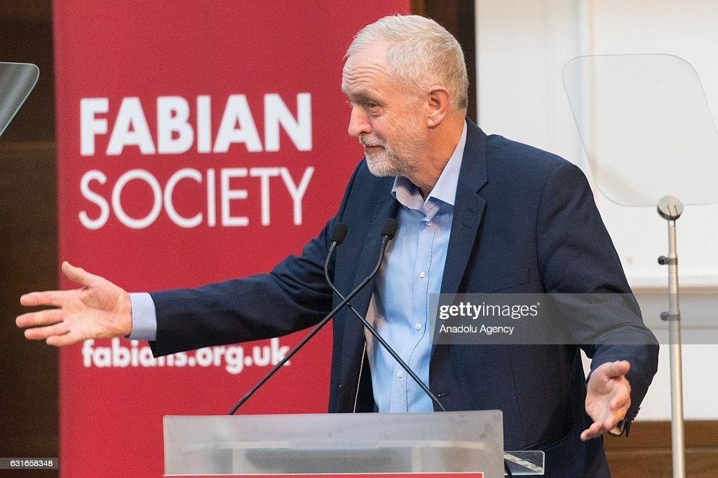 Resultado de imagen de jeremy corbyn fabian society member