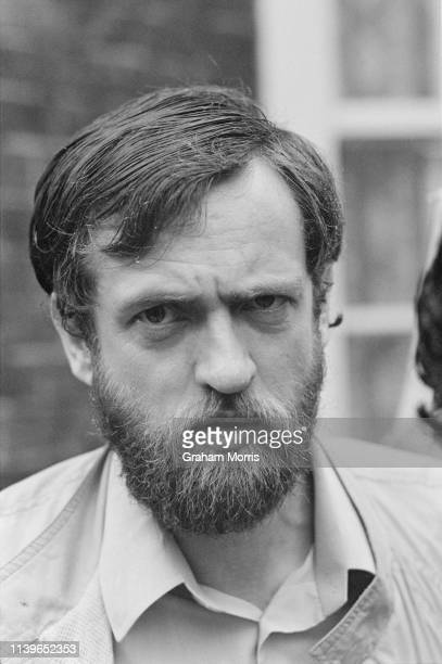 British Labour Party MP for Islington North, Jeremy Corbyn, 17th May 1984. He was elected Leader of the Labour Party in 2015.