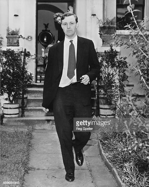 British Labour Party MP Tony Benn leaves his home in Holland Park Avenue London on his way to the House of Commons 8th May 1961