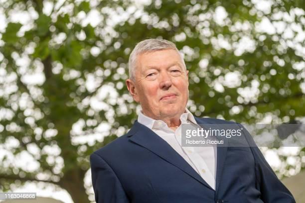 British Labour Party politician Alan Johnson attends a photocall during the Edinburgh International Book Festival 2019 on August 21 2019 in Edinburgh...