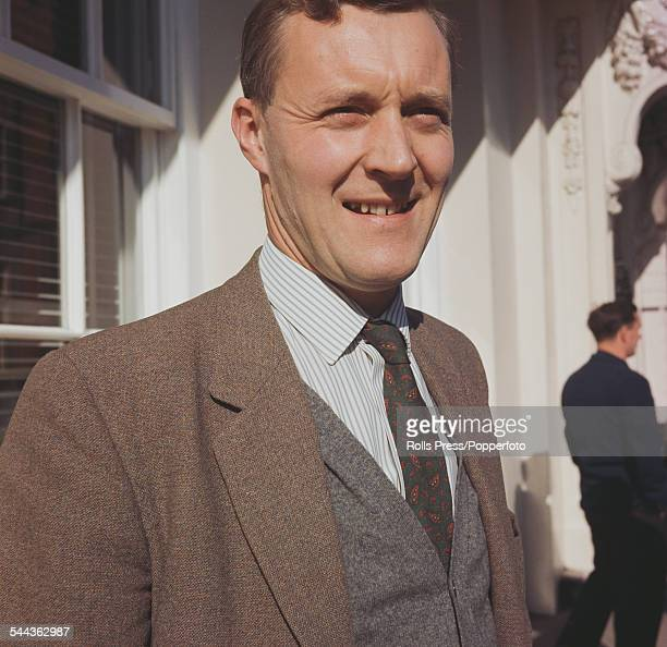 British Labour Party politician and Member of Parliament for Bristol South East Tony Benn pictured in Scarborough England during the Labour Party...