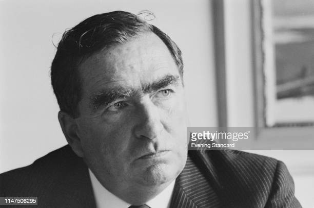 British Labour Party politician Denis Healey , Secretary of State for Defence, UK, 29th September 1969.