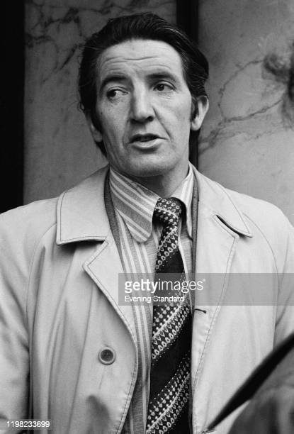 British Labour Party politician Dennis Skinner UK 11th March 1976