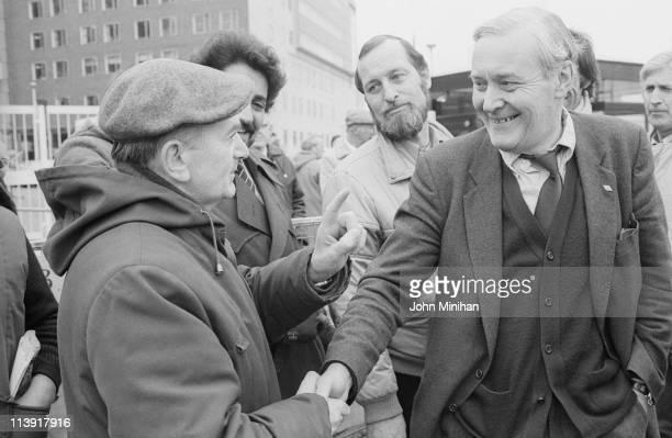 British Labour Party politician Tony Benn 5th April 1984