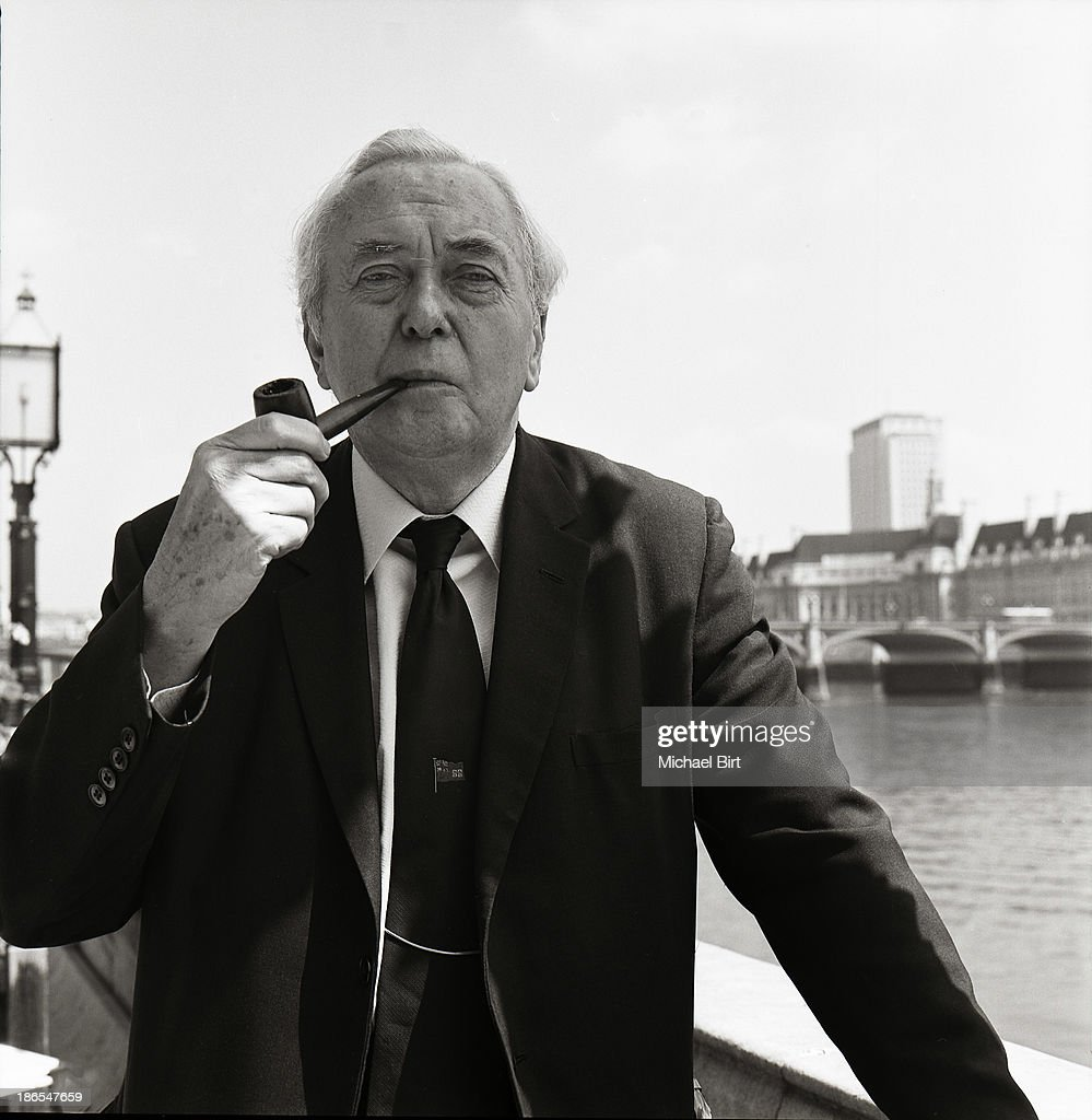 Harold Wilson, Portrait shoot, 1984