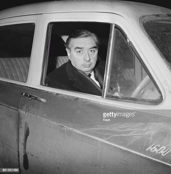 British Labour politician and Deputy Leader of the Labour Party George Brown UK 22nd January 1963