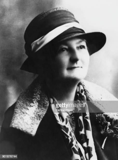 British Labour politician and women's rights activist Margaret Bondfield the MP for Wallsend circa 1929