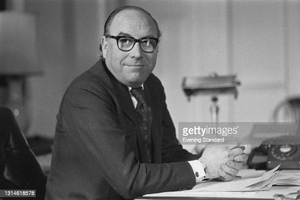 British Labour politician Roy Jenkins , the new Home Secretary in Harold Wilson's government, UK, 7th March 1974.