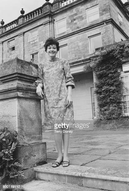 British leader of Scientology Jane Kember at Saint Hill Manor headquarters of Scientology East Grinstead Sussex 27th July 1968
