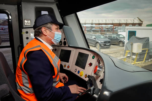 GBR: Keir Starmer Makes Post-Budget Visit To Alstom Train Manufacturers