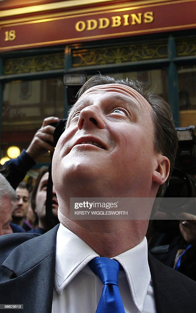 British leader of the oppostion Conserva : Nieuwsfoto's
