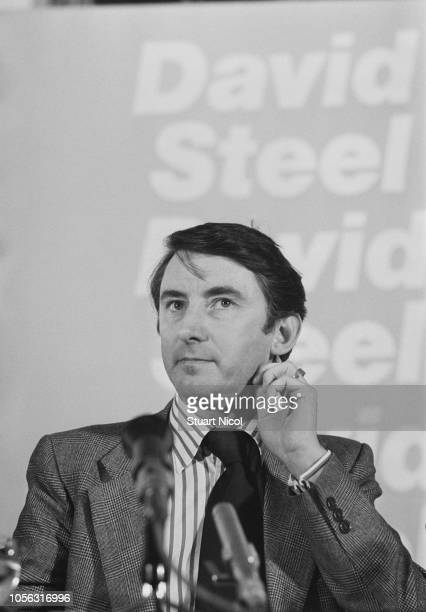 British Liberal Democrat politician David Steel campaigning following the announcement of a general election UK 9th April 1979