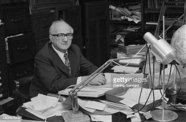 British Liberal politician Dr Stanley Rundle , UK, 16th April 1973. He has just won the Richmond seat in the 1973 Great London Council election.