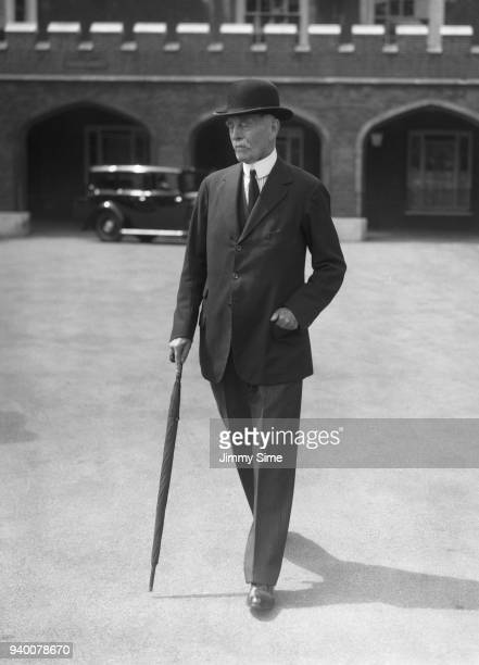 British Liberal politician Robert CreweMilnes 1st Marquess of Crewe attends a Coronation council meeting for King Edward VIII 24th July 1936