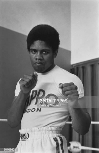 British light heavyweight boxer Bill Knight, UK, 29th May 1973.