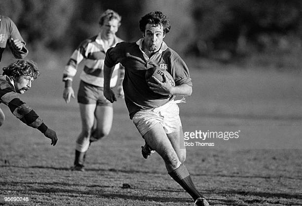 British Lion Jim Calder with the ball during the British Lions Rugby Tour of New Zealand match against West Coast held in Greymouth on 8th June 1983...