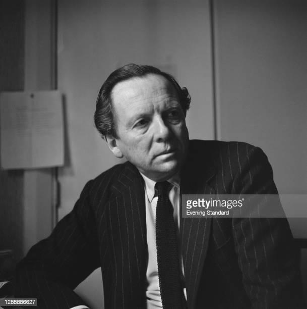 British lyricist and composer David Heneker , UK, 11th February 1967.