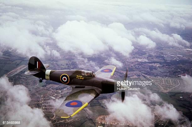 British manufactured Hawker Hurricane