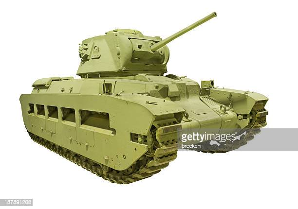 wwii british matilda tank - armored tank stock photos and pictures