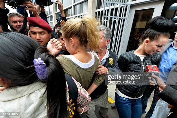 British Melissa Reid and Irish Michaella McCollum the two young women arrested on August 6 2013 at Lima's airport carrying cocaine in their luggage...