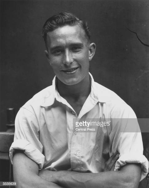 British Middlesex cricketer and Arsenal footballer Denis Compton