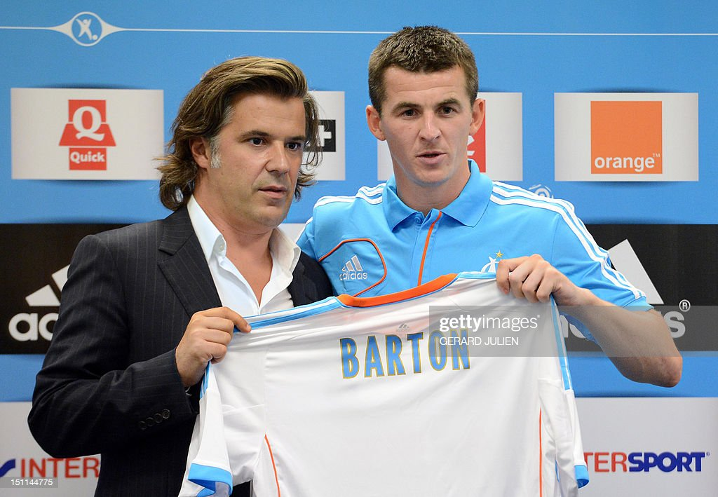 FRANCE-FBL-MARSEILLE-BARTON : News Photo