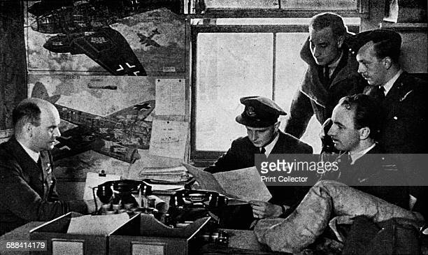 British military intelligence officers of World War II, 1943. A good Intelligence Officer must have something of the qualities of Herodotus, Socrates...