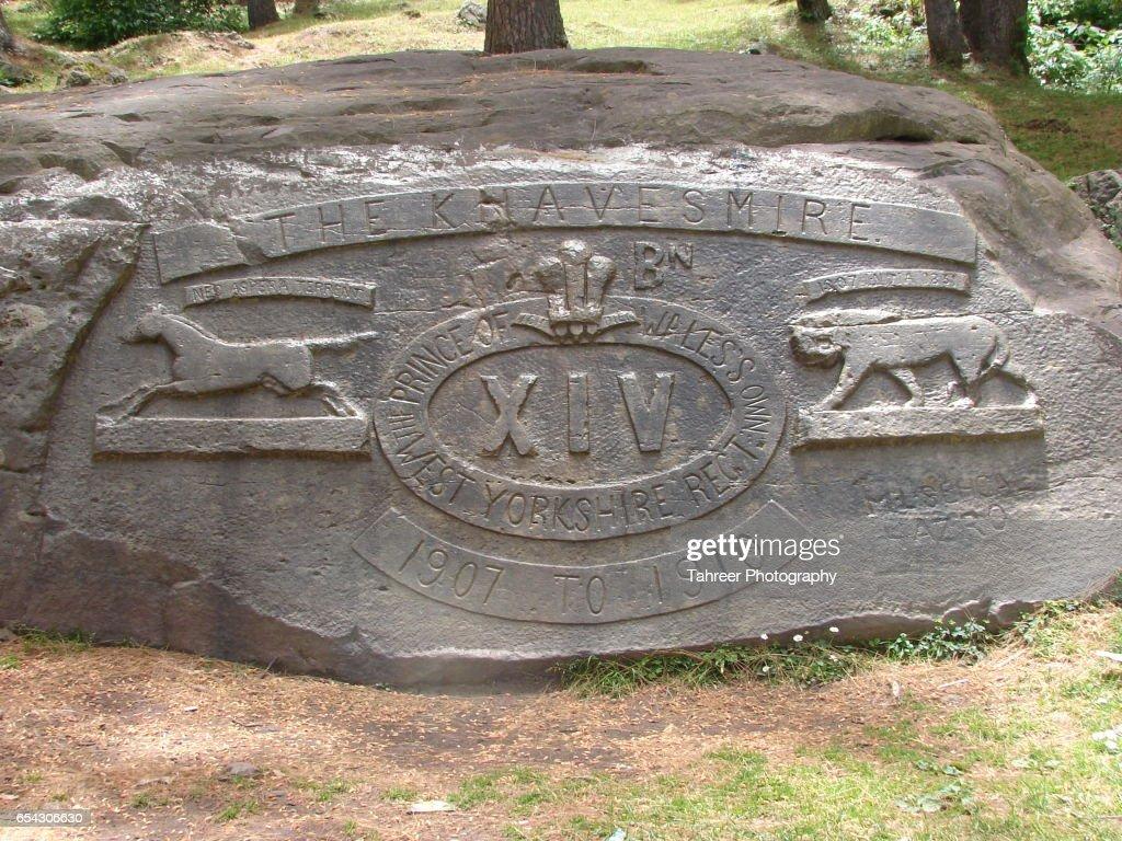 British Military Monument : Stock Photo
