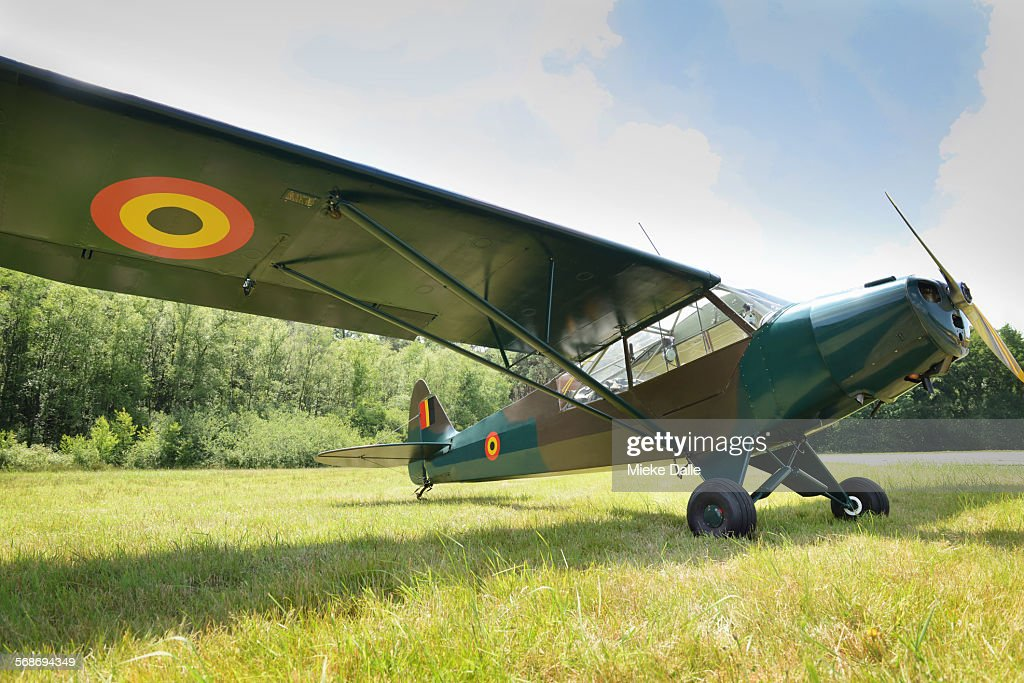 British military plane : Stock Photo