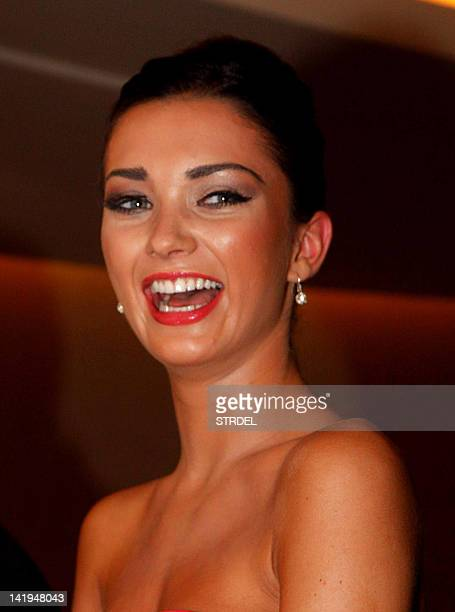 British model and actress Amy Jackson attends The Hindustan Times Brunch event in Mumbai on March 26 2012 AFP PHOTO/STR